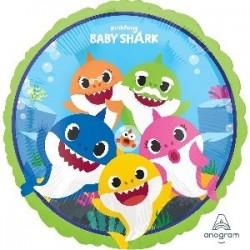 """GLOBO 17"""" FOIL BABY SHARK"""