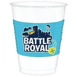 8 VASOS PL BATTLE ROYAL 473ML