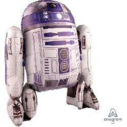 "GLOBO 93"" FOIL AIRWALKER R2-D2 STAR WARS"