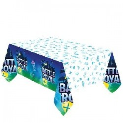 MANTEL PAPEL BATTLE ROYAL 2,40MT