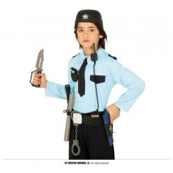 CINTURON POLICIA CON CASCO