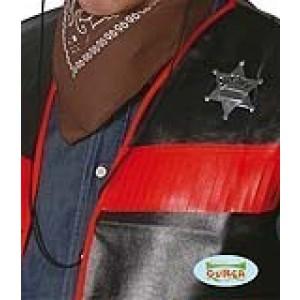 PLACA ESTRELLA SHERIFF METALICA