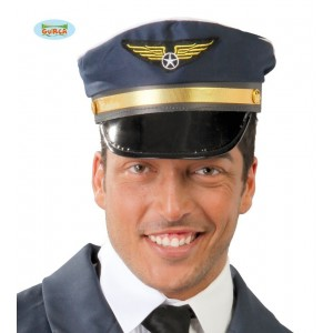 GORRA PILOTO AVION ADULTO