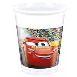 PAQ.8/U VASO CARS 3 200ML